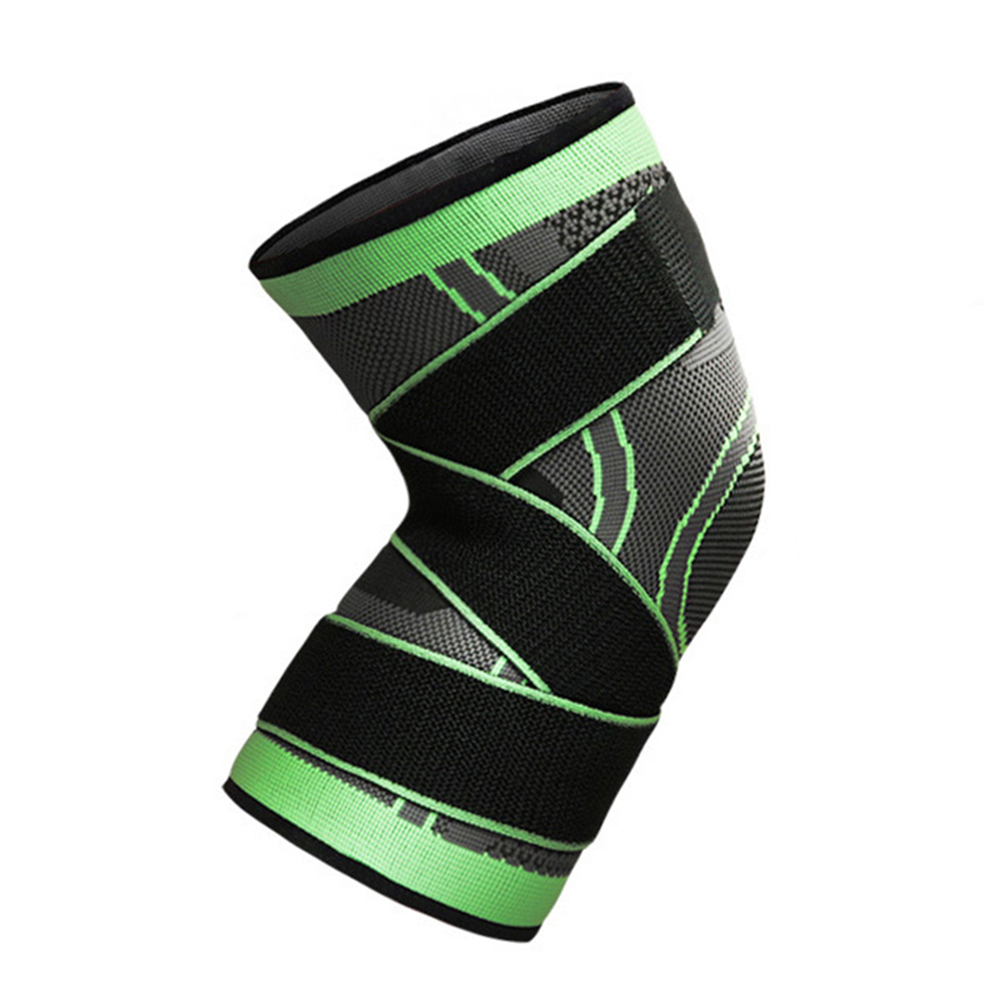3D-Weaving-Knee-Brace-Pad-Protector-Compression-Breathable-Running-Support-Cleve thumbnail 14