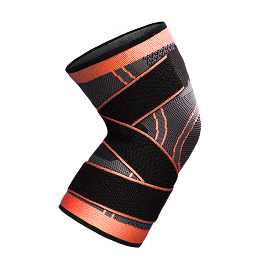 3D-Weaving-Knee-Brace-Pad-Protector-Compression-Breathable-Running-Support-Cleve thumbnail 15
